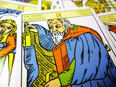 Monthly tarot card